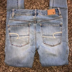 American Eagle high-rise jeans